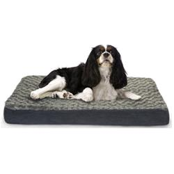 Furhaven Ultra Plush Deluxe Orthopedic Pet Bed