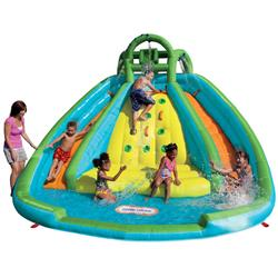 Little Tikes Rocky Mountain River Race Continuous Air Waterslide