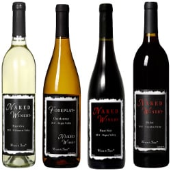 Naked Winery Best Sellers Mixed Pack