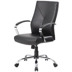 Rosewill RFFC-14003 LeatherPlus Modern Euro Design Ergonomic Executive Chair