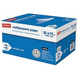 Staples® Multipurpose Letter Size Paper (10 Reams)