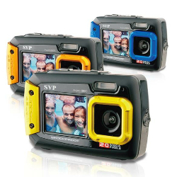 SVP AQUA8800 Waterproof 20MP Digital Camera