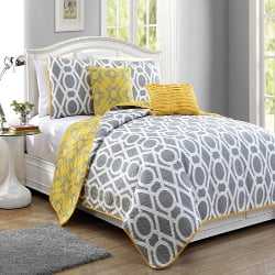 Avondale Manor East Side 5-Piece Reversible-Quilt Sets