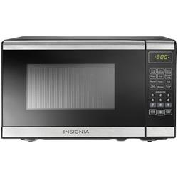 Insignia 0.7 Cu. Ft. Compact Stainless Steel Microwave (NS-7CM6-SS)
