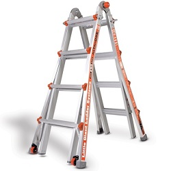Little Giant 17Ft. Multi-Use Ladder with Ladder Rack