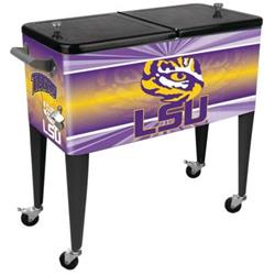 Sainty Art Works Louisiana State University 80 qt. Patio Cooler