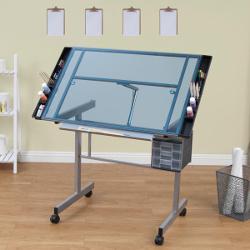 Studio Designs Vision Blue Glass Craft Station