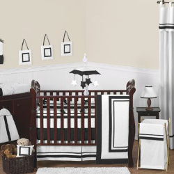 Sweet Jojo Designs Hotel 9-piece Crib Bedding Set