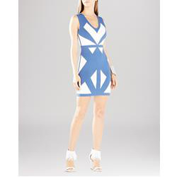 BCBGMAXAZRIA Evinna Geometric Dress