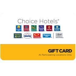 Choice Hotels Gift Card
