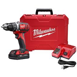 Milwaukee M18 18V Li-Ion Compact 1/2-Inch Drill/Driver (2606-21CT)