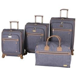 Nicole Miller Taylor 4-Piece Spinner Luggage Set