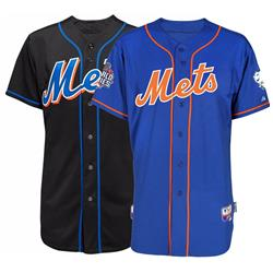 Mets Majestic Authentic On-field Jersey