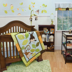 Nurture Imagination Crib Bedding Set (Swing)