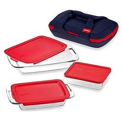 Pyrex Portables 8-Piece Bakeware Set