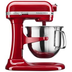 KitchenAid KSM6573CER 6-Quart Professional 6000 HD Bowl-Lift Stand Mixer