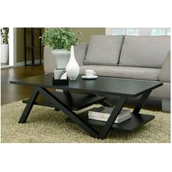 Furniture of America Finley Rectangular Coffee Table