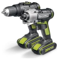 Rockwell RK1806K2 20V Lithium Ion Drill and Driver Combo Kit
