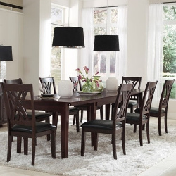 Asha Solid Wood 14-Piece Dining Collection (ASHES5714)