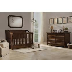 Franklin & Ben Mayfair Nursery Furniture Bundle (Rustic Brown)