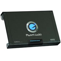 Planet Audio AC4000.1D ANARCHY 4000-watts Monoblock Class D 1 Channel 1 Ohm Stable Amplifier
