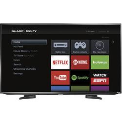 Sharp LC-50LB371U 50-Inch 1080p Smart LED HDTV with ROKU TV