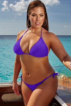 Ashley Graham x swimsuitsforall Espionage Twilight Bikini