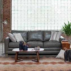 Belham Living Owen Leather Sofa