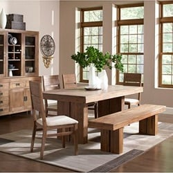 Champagne Dining Room 6 Piece Furniture Set