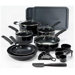 Food Network 22-pc. Nonstick Aluminum Cookware Set