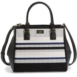 Kate Spade New York Prospect Place Stripe Maddie Leather Tote