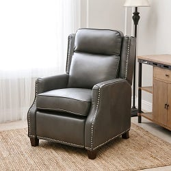 Abbyson Living Richfield Pushback Leather Recliner