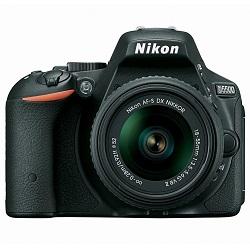 Nikon D5500 DSLR Camera with 18-55mm NIKKOR f/3.5-5.6G VR II Lens