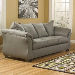 Signature Design by Ashley Madeline Fabric Pad-Arm Sofa