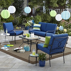Bailey 4 Piece Seating Set