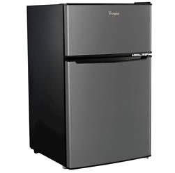 Whirlpool BCD-88V 3.1 cu. ft. Mini Stainless Steel Refrigerator