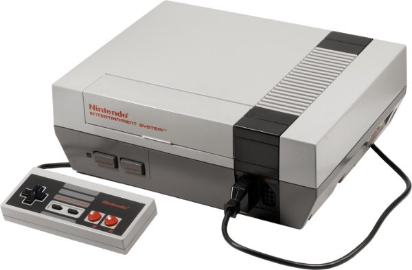 Nintendo Entertainment System - Retro Gaming Holiday Gift Idea