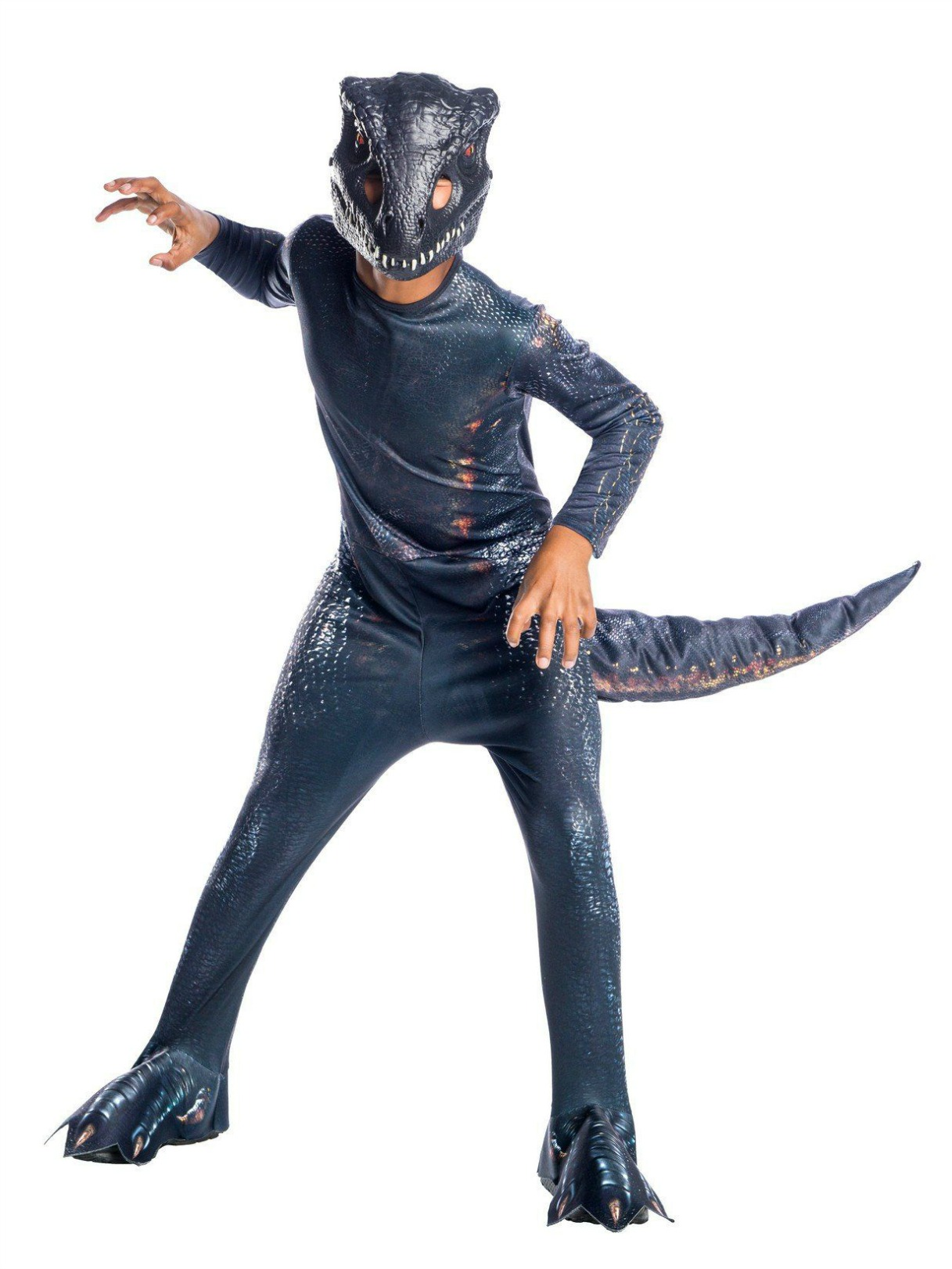 Jurassic World Fallen Kingdom Rouge Dinosaur Child Costume