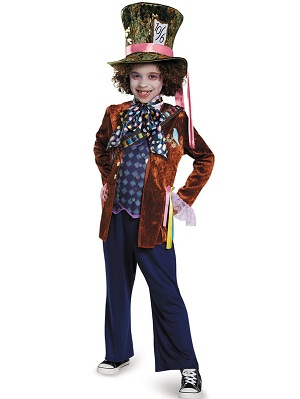 Alice Through the Looking Glass Boys Mad Hatter Deluxe Costume