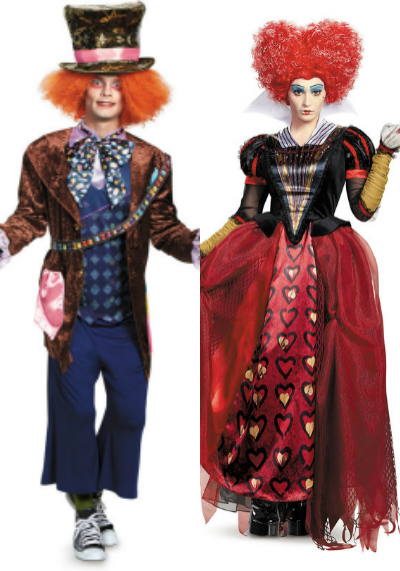 Alice Through The Looking Glass Couples Costumes