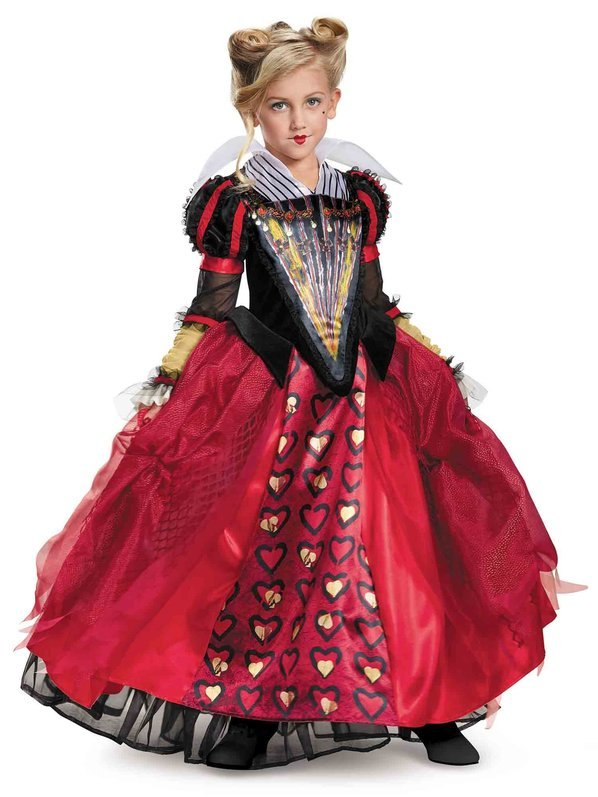 Alice Through the Looking Glass Red Queen Deluxe Girl's Costume