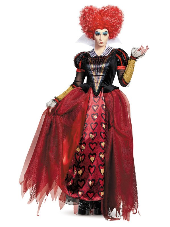 Alice Through The Looking Glass Red Queen Deluxe Adult Costume