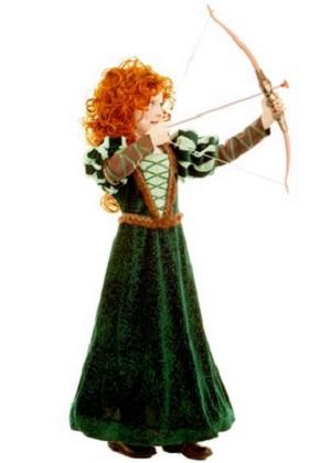 Princess Merida Costumes