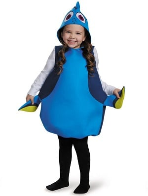 Disney's Finding Dory Girls Dory Classic Costume