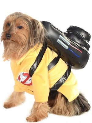 Dog's Ghostbusters Jumpsuit Costume