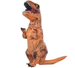Jurassic World T-Rex Inflatable Child Halloween Costume