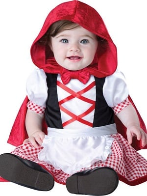 Little Red Riding Hood Halloween Baby Costume