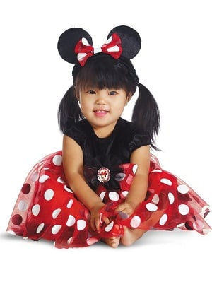 Minnie Mouse Halloween Baby Costume