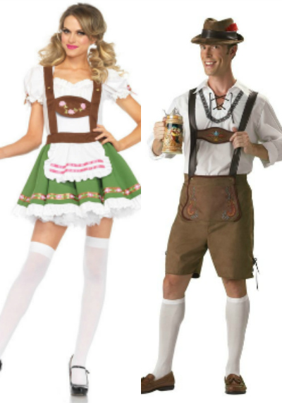 Oktoberfest Couples Costumes
