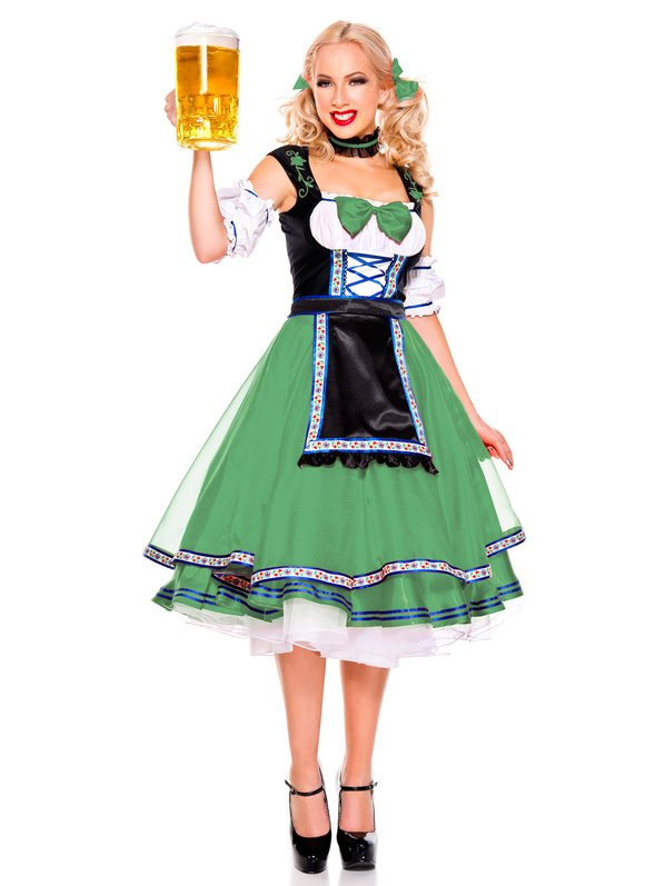 Women's Oktoberfest Beer Girl Costume